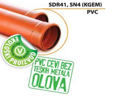 Ekologická rúra SDR 41, SN4 (PVC)